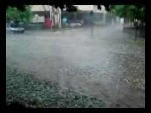 Chuva de ganizo em Eugenópolis