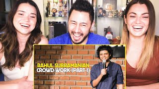 Video RAHUL SUBRAMANIAN | Live In Bangalore | Crowd Work (Part 1) | Reaction | Jaby Koay download in MP3, 3GP, MP4, WEBM, AVI, FLV January 2017