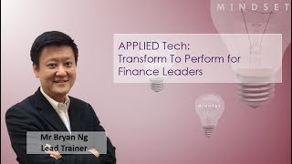 Transform to Perform for Finance leaders