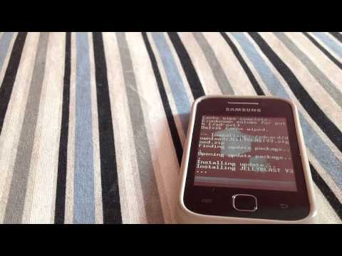 comment installer rom galaxy y