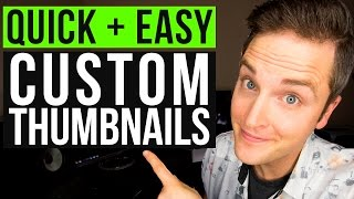 Video How to Make a YouTube Custom Thumbnail Tutorial — Quick and Easy MP3, 3GP, MP4, WEBM, AVI, FLV Desember 2018