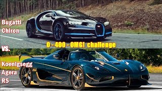 Video 1360hp Koenigsegg Agera destroys 1500hp Bugatti Chiron in 0-400-0 challenge!!! MP3, 3GP, MP4, WEBM, AVI, FLV Agustus 2019