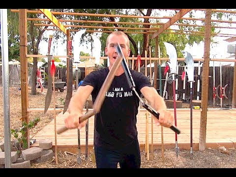 nunchucks - Greatest Chinese Kung Fu Weapon: Nunchucks also called Nunchaku, Nunchuck, Numchucks, or Er Jie Gun. These double sectional sticks are responsible for me fal...