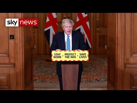 In full: PM Boris Johnson holds news conference as lockdown begins