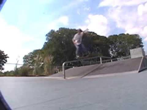 Overlook Skatepark Footy.