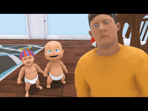 Do NOT Let Baby Invite His Friends Over... (Who's Your Daddy New Update Multiplayer Gameplay)