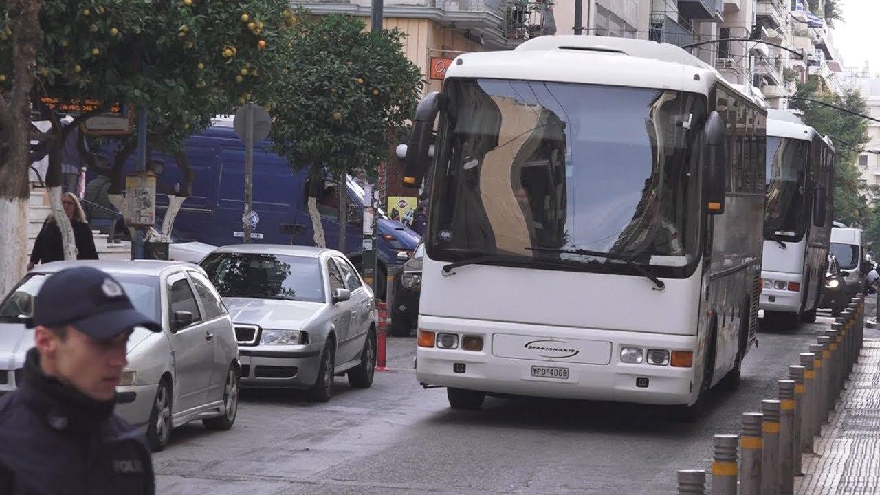 Νέα αστυνομική επιχείρηση για την εκκένωση κτιρίου στα Εξάρχεια