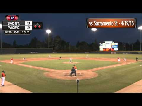HIGHLIGHTS: Baseball vs. Sacramento State