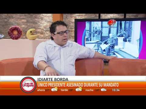 Leo Borges habla de Juan Idiarte Borda (17-octubre-2014).