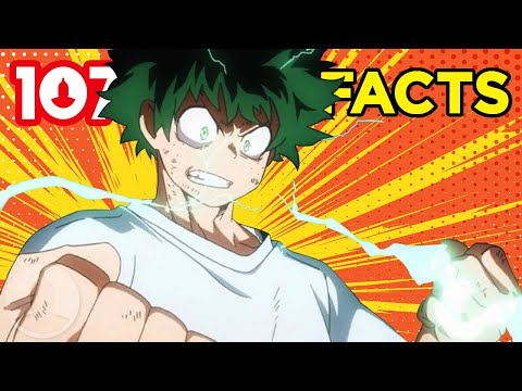 107 My Hero Academia Facts You Should Know  | Channel Frederator