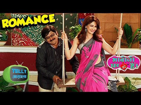 Anita Bhabhi And Tiwari Ji's Romance On The Swing