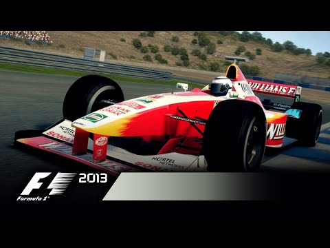 New F1 2013 Video Shows Racing in the Rain, Crashes