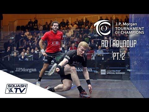 Squash: Tournament of Champions 2018 - Men's Rd 1 Roundup [Pt.2]