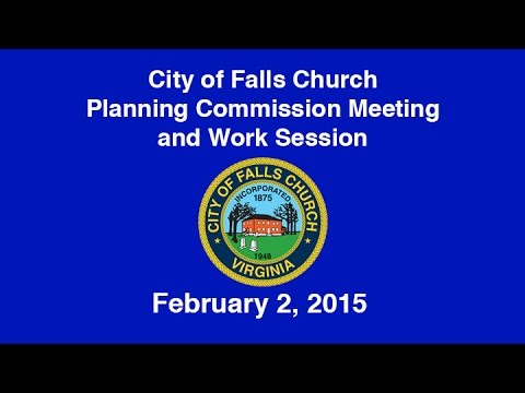 Planning Commission Meeting and Work Session February 2, 2015