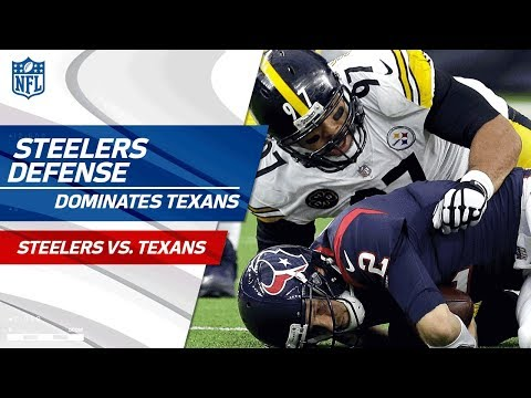 Video: Pittsburgh D Racks Up 7 Sacks, 1 INT & 1 Forced Fumble! | Steelers vs. Texans | Wk 16 Player HLs