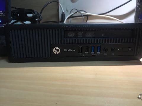 HP elitedesk 800 USDT ultra slim mini pc. HP h5t98ea.