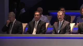 Ceremonia de Traspaso de Mando Presidencial de Laurentino Cortizo a la que asistió S.M. el Rey
