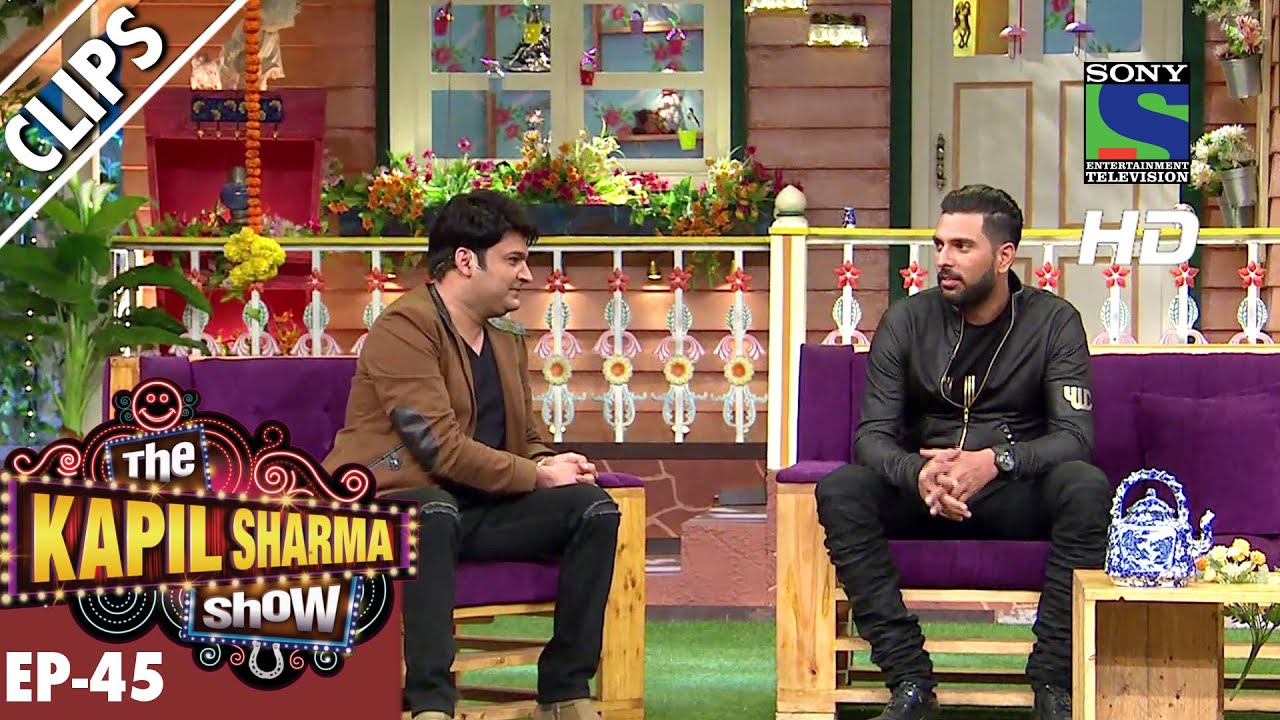 Fun time with Yuvraj Singh – The Kapil Sharma Show – Ep.45 -24th September 2016