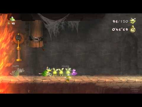 Quick Look: Rayman Legends Online Challenges – with Gameplay Video