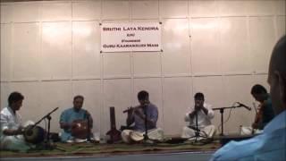Nevagathi Varnam - Nalinakanthy Gnani Flute