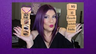 My Top 10 Favorite Eyeshadow Palettes! For Mature Beauties! #sexyat60💜It may take me a bit to respond to comments!!!!!! I'm out of the country until July 15th💜Hi, Everyone!In this video, I share my top 10 Favorite Eyeshadow Palettes!xoxo💋MarleneChannel Mentioned:September Beauty (Mandy): http://bit.ly/2kYOnMl💞Visit the fabulous ladies on YouTube:http://ohcarolshow.blogspot.com/💞💞How I save money:eBates: https://www.ebates.com/r/THOMPS3547?eeid=28187 (we'll both receive a gift card for signing up)DiscountCodes: I do not receive any monetary compensation if you use my codes. This is just a savings for you.💜SqHair Bands: MARLENE OR MARLENE6 (both codes will work and good until September 30, 2017; $3.99 off a $20 or more order) https://sqhairbands.com/💜American Culture Pure Blends Shampoo & Conditioner (Use my code MARTHOM25 to save 25%)http://bit.ly/2oW5NXZ▶💄For New Creators:Sub4Sub: Is Sub For Sub Good or Bad?http://bit.ly/2paWckN💜If you love art, stop by my brother's (William Braemer) art gallery in Miami! This video includes a bit of footage from our beautiful Miami!Art Fusion Galleries: ( Luminescent Infusion Opening Night Event, April 26) http://bit.ly/2qeumBu📧Business Inquiries: fabglam50@gmail.com📧📧📧📧📧📧📧📧📧📧📧📧📧📧📧📧📧📧📧📧📧📧📧📧Send Me A Postcard Fab and Glam Over 50125 E Merritt Island CausewaySte 107   #270Merritt Island, Fl 32952💜💜FTC: I receive a few pennies when you click on the magiclinks below. There will NO additional charges to your purchase(s). 💜What I'm Wearing:😍Top: StitchFix: http://bit.ly/2svele6😍Earrings: H&M💜Palettes Mentioned:💜Viseart Theory Palette on 02 Minx & Amesythhttp://go.magik.ly/ml/4z5j/💜Urban Decay Cosmetics Naked3 Palette http://go.magik.ly/ml/5l8f/💜Zoeva Warm Spectrum Eyeshadow Palette: http://bit.ly/2fR7ZAS💜Kat Von D Shade + Light Eye Contour Palettehttp://go.magik.ly/ml/2dq4/💜Juvia's Place Nubian 2 Eye shadow Palette:http://go.magik.ly/ml/5lh7/💜Tartelette In Bloom Clay Eyeshadow Palettehttp://go.magik.ly/ml/3lva/💜Anastasia Beverly Hills Mo