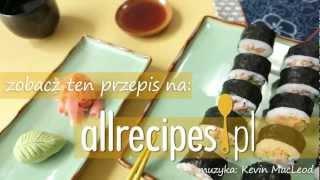 Przepis na sushi z tuńczykiem
