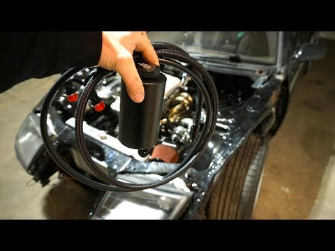 SR-Z POWER STEERING & FRONT END INSTALL!! (видео)