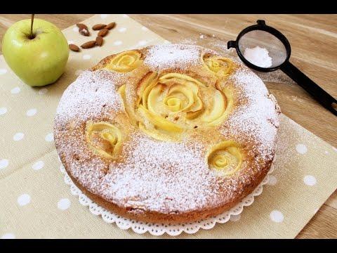 torta rose di mele - ricetta