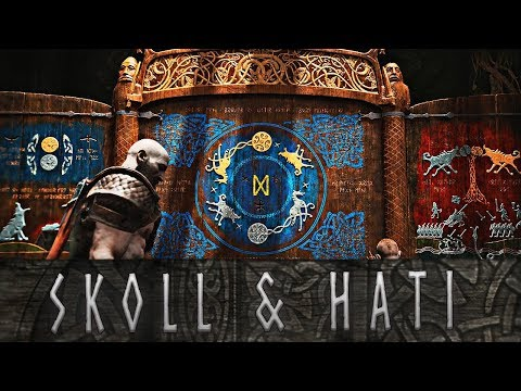 God of War - The Story of Skoll and Hati, Wolves of Ragnarok