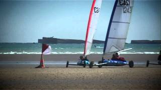 Asnelles France  City new picture : Championnat de France Char a Voile