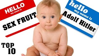 Top 10 Illegal Baby Names