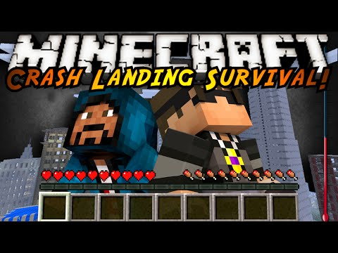 Minecraft Modded Crash Landing : AUTOMATED MACHINES!
