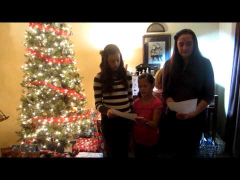 Christmas Song - Little One, Sung by Finlayson Girls