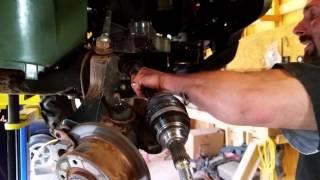 10. JOHN DEERE GATOR FRONT AXLE INSTALL -$200 easy fix