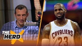 "Could LeBron James head to Phoenix anytime soon? Doug Gottlieb has the answers.SUBSCRIBE to get all the latest content from The Herd: http://foxs.pt/SubscribeTHEHERD  ►Watch the latest content from The Herd: http://foxs.pt/LatestOnTheHerd ►Watch the latest content from Kristine Leahy: http://foxs.pt/LeahyOnHerd ►Watch our favorite content on ""Best of The Herd"": http://foxs.pt/BestOnTheHerd ►UNDISPUTED's YouTube channel: http://foxs.pt/SubscribeUNDISPUTED ►Speak for Yourself's YouTube channel: http://foxs.pt/SubscribeSPEAKFORYOURSELF See more from THE HERD: http://foxs.pt/THEHERDFoxSports Like THE HERD on Facebook: http://foxs.pt/THEHERDFacebook Follow THE HERD on Twitter: http://foxs.pt/THEHERDTwitter Follow THE HERD on Instagram: http://foxs.pt/THEHERDInstagram Follow Colin Cowherd on Twitter: http://foxs.pt/ColinCowherdTwitter Follow Kristine Leahy on Twitter: http://foxs.pt/KristineLeahyTwitter  About The Herd with Colin Cowherd:The Herd with Colin Cowherd is a three-hour sports television and radio show on FS1 and iHeartRadio. Every day, Colin will give you his authentic, unfiltered opinion on the day's biggest sports topics, and co-host Kristine Leahy will bring you the latest breaking sports news.LeBron James to Phoenix? James Jones possibly hired to lure LeBron  THE HERDhttps://youtu.be/8ZEUgq8laLkThe Herd with Colin Cowherdhttps://www.youtube.com/c/colincowherd"