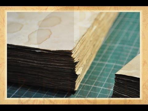 Envelhecendo Papel (Aging Paper)