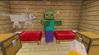 Minecraft Xbox - Quest To Kill The Ender Dragon - Punny Jokes - Part 3