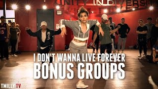 ZAYN, Taylor Swift - I Don't Wanna Live Forever - [BONUS GROUPS] Choreography by Alexander Chung Video