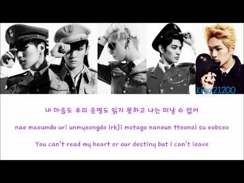 SHINee – Close The Door(닫아줘) [Hangul/Romanization/English] Color & Picture Coded HD