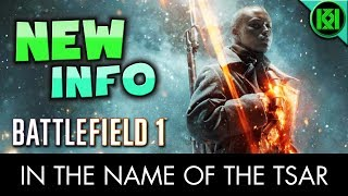"""Battlefield 1: Loads of new BF1 information and details regarding the """"In the Name of the Tsar"""" Russian DLC. Gameplay from the latest trailer shows off new maps, weapons, vehicles, a new game-mode called supply drop, and dlc release date (September)(PS4 Pro gameplay shown in background)BF1: """"In the Name of the Tsar"""" DLC New Info  Maps, Weapons, Vehicles  Battlefield 1 Russian dlc  Facebook:  https://www.facebook.com/kriticalkrisTwitter:  https://twitter.com/KriticalKrisMusic:Intro:Krale - Frontier (ft. Jasmina Lin & Jay Christopher) [NCS Release]http://www.youtube.com/watch?v=pGMojZB0Lm0Check out my channel: KriticalKris Channel : https://www.youtube.com/channel/UC5d9SQiZzg7qFcqF0xTOFXQ/feedhttps://youtu.be/8ZIA4V9VwAs"""
