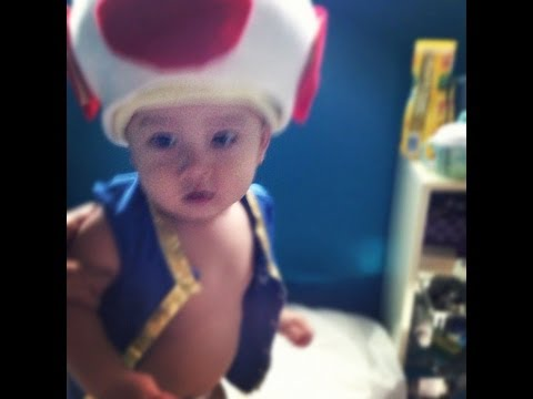 DIY Toad (Mario) Costume