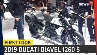 5. 2019 Ducati Diavel 1260 S First Look Review | EICMA 2018