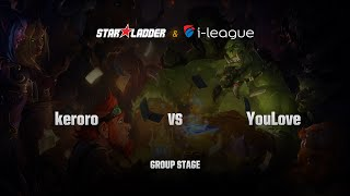 Keroro (Sukipan) vs YouLove (优容爱), game 1