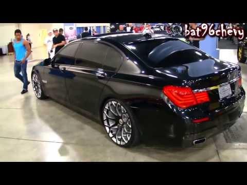 BMW F01 750Li on 22 Forgiatos Wheels HD