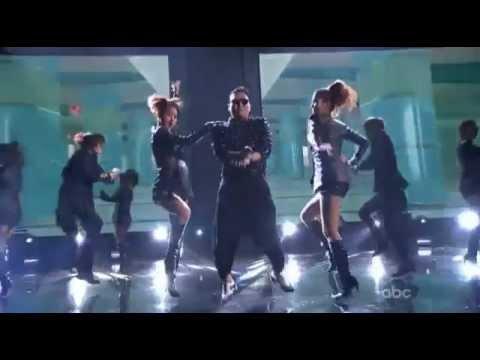 PSY-Gangman Style在2012全美音樂獎大跳騎馬舞~~
