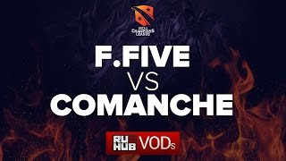Fantastic Five vs Comanche, D2CL Season 9 [LightOfHeaveN, Lex]