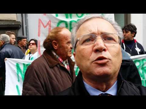 Catania, la protesta contro l'Imu agricola