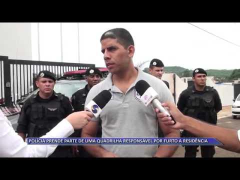 JATAÍ | Polícia desmantela parte de quadrilha responsável por furto em residências