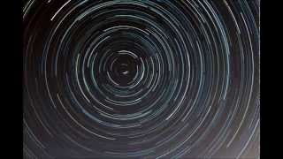 Cumulative North Celestial Star Trails Time-Lapse 1
