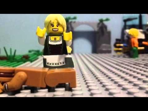 Lego Stop-Motion:Gardee the Gingerbreadman